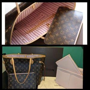 🦄 Louis Vuitton Rose Ballerine Neverfull MM